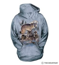 6283 Wolf Family Mountain Youth Hoodie - $37.00