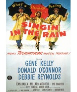 Singing In The Rain Reynolds Kelly 8X10 Color Movie Promo Memorabilia Photo - $3.99
