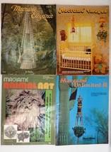 Lot of 4 Vintage 1970s Macrame Craft Books - $18.90
