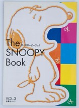 The Snoopy Book Japanese Peanuts Shopper's Selection Catalog Vol.3 2001 Sticker - $11.88