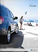 2011 Subaru FORESTER brochure catalog 2nd Edition US 11 2.5 X XT Touring - $6.00