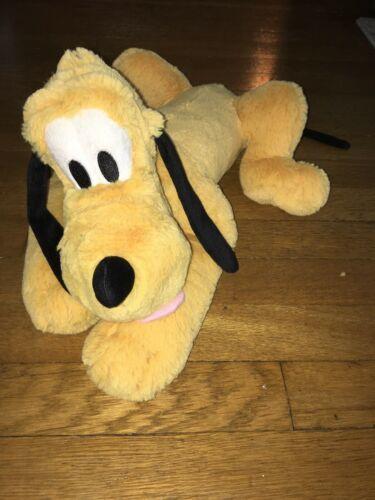 "* Disney Store Pluto Dog Plush Doll Medium Size 17"" Stuffed Animal  image 2"