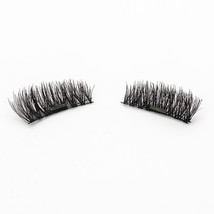 1 Pair 3D Single Magnet Natural False Eyelashes without Glue Black KS01-D - $7.42