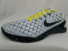 Nike Metcon 4 Training Shoes Size 6 Men's 2018 White & Black CrossFit AO... - $125.72