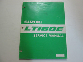 1989 Suzuki LT160E Service Repair Shop Workshop Manual OEM BOOK 89 - $79.19