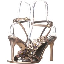 Coach Bianca Ankle Strap Sandals 370, Champagne, 11 US - $138.23