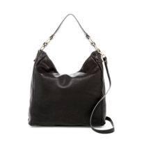 NWT $110 Urban Expressions Black Brynn Faux Leather Tote Hobo Bag - $58.10