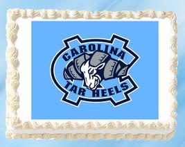 """North Carolina Edible Image Topper Cupcake Cake Frosting 1/4 Sheet 8.5 x 11"""" - $11.75"""