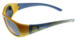 New Despicable Me Boys Kids Youth Blue Yellow 1 in a Minion 100% UV Sunglasses image 2