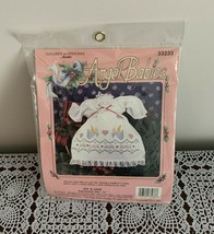 Brand New 1992 Bucilla Angel Babies Embroidery Kit 32333 Gallery Of Stitches - $10.99