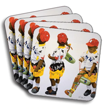 Frequent Flyer Coasters (African American Coasters) - $19.53