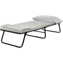 Guest Bed Cot Twin Dorm Camp Folding Foldaway Portable Includes Foam Mat... - $107.62