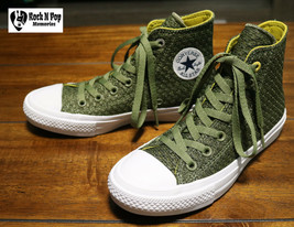 Converse CTAS II HI Fatigue Green Unisex 154021C Womens 6 Mens 4 Hi Top ... - $66.23 CAD