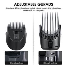Veagins Beard Trimmer Grooming Kit for Men, Cordless Electric Hair Clipper Body  image 4