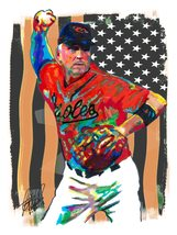 "Cal Ripken Jr, The Iron Man, Baltimore Orioles, Baseball, 18""x24"" Art Pr... - $19.99"