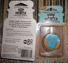 4 new yankee candle ultimate car jar air freshener beachwalk LE - $13.00