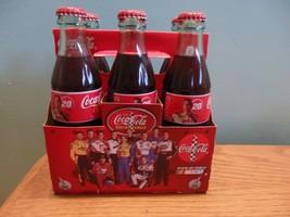 Tony Stewart Coca-Cola Racing Team Bottle Set Dale Earnhardt rare 2000 DEI - $50.00