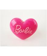 Fuschia Barbie Ring, Adjustable Heart Ring, Silver Plated - Gyaru, Oshar... - $6.00