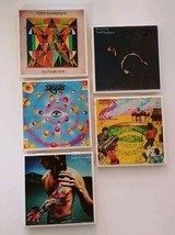 Todd Rundgren Albums Drink Coasters Utopia Initiation Back to the Bars S... - $28.91