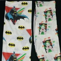 Vintage 1989 Batman & Joker DC Comics Twin Sheet Flat & Fitted Set NO Pi... - $39.48