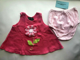 Baby Girl's Size 6M 3-6 Months Two Piece Pink PLACE FLoral Top + NWT D.C. - $18.00