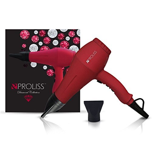 Primary image for Proliss Newest Diamond 3000 Blow Hair dryer W/ 1875W and DC Motor with Air Tempe