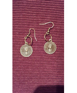 Steampunk Antiqued Coin Replica Earrings made with Nickel Free hooks - $5.40