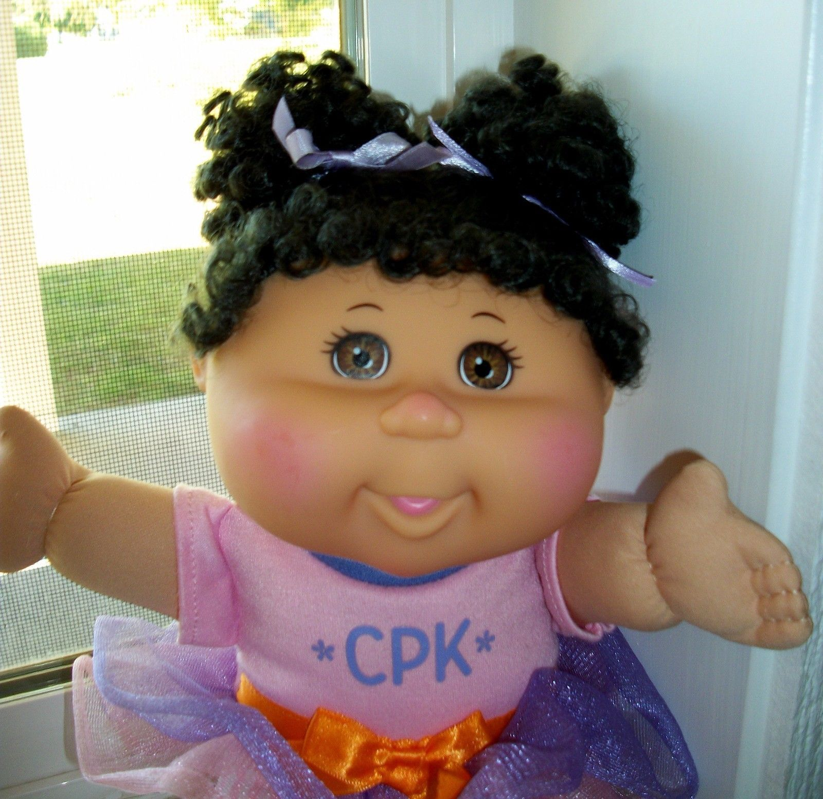 Cabbage Patch Kids Doll Dark Curly Hair and 15 similar items