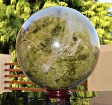 Sphere Ball Giant Green Vesuvianite Mineral Spirit Stone Power Meditation - $1,739.00