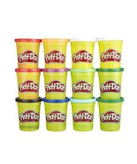 Play-Doh Bulk Winter Colors 12-Pack of Non-Toxic Modeling Compound, 4-Ou... - $39.59