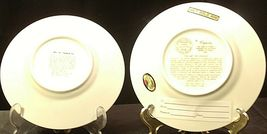 Golden 25th Anniversary Plate (Pair) AA20-2083 Vintage image 3