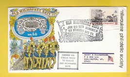 OLD MILWAUKEE DAYS CARRIED BY CIRCUS TRAIN MILWAUKEE WIS JULY 29 1973  - $3.98