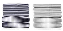 Loft Collection 6 Piece Sheet Set 1500 Thread Count Classic Stripe - $27.89+