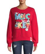 Mickey Mouse Juniors' Graphic Sweatshirt Size XXL/2XG (19) LOC TUB-1 - $19.62