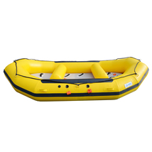 BRIS 1.2mm 12ft Inflatable White Water River Raft Inflatable Boat FloatingTubes image 8