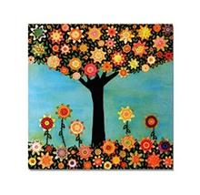 Contemporary Sitting Room Adornment Picture-Happy Tree (E)