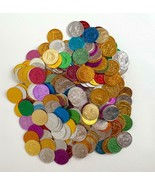 Lot of 260 Vintage Mardi Gras Colorful Coins Tokens MIXED LOT 1970s-1990s - $98.99