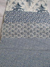 FABRIC of quality for stash; General Fabrics blue/navy toile in 4 compat... - $65,60 MXN