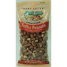 Snak Club Premium Toffee Peanuts, 6 Count (NUT & DRY FRUIT - PEG BAGS) - $20.32