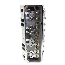 SBC Small Block Chevy GM Straight Plug Aluminum Cylinder Head Set 64cc 2.02/1.60 image 6