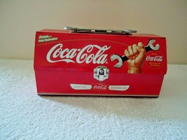 """Vintage Coca Cola Tool Box Shaped Metal Lunch Box """" Beautiful Collectible Item """" - $29.99"""
