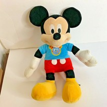 Mickey Mouse Singing Talking Bowtique Phrases M4504 2007 Just Play Plush Toy - $14.89