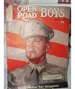 The Open Road for Boys, Magazine, old, military, General Douglas MacArth... - $56.05