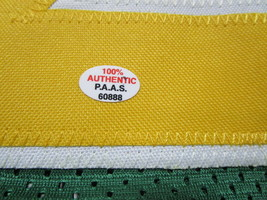 GARY PAYTON / NBA HALL OF FAME / AUTOGRAPHED SEATTLE SUPERSONICS CUSTOM JERSEY image 5