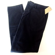 J-635976 New Burberry Brit Navy Blue Chino Flat Front Jeans Pants Size U... - $189.99
