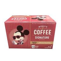 Disney Mickey's Coffee Signature Roast Medium Roast 12 Keurig K-Cup New ... - $22.45