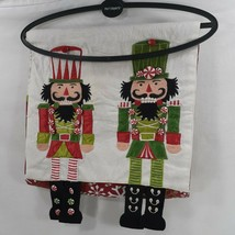 Pier 1 Imports Christmas Table Runner Nutcrackers Toy Toldiers Snowflake... - $27.10