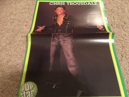 Chris Trousdale teen magazine poster clipping in style Dream Street Popstar