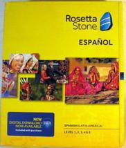 Rosetta Stone Spanish Latin America Level 1-5 Set Version 4  - $79.99