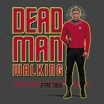 Classic Star Trek TV Series Red Shirt Dead Man Walking T-Shirt NEW UNWORN - $19.99